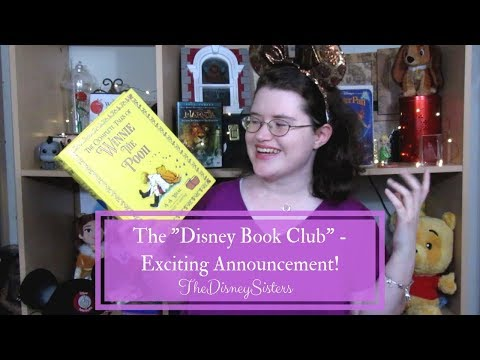 """The """"Disney Book Club"""" - Exciting Announcement! - TheDisneySisters Mp3"""