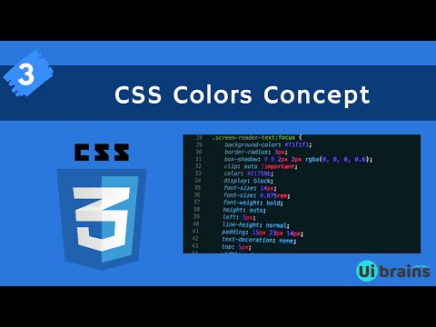 03 CSS Colors | css tutorials for beginners | UiBrains| NAVEEN SAGGAM thumbnail