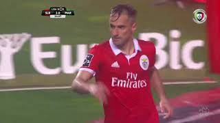 Benfica 5-0 Marítimo (Liga 25ª J): Resumo