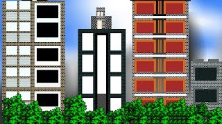 Visual Basic.Net Graphics Tutorial - Drawing Buildings with embedded background
