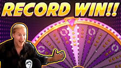 Ebros gets a RECORD WIN!!! Wild Wheel BIG WIN from Push Gaming
