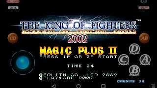 king of fighters 2002 magic plus 2 (APK) SIN EMULADOR para android 2017