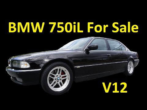 BMW 750iL V12 E38 ~ M-SPORT CLASSIC CAR V!12 VIDEO REVIEW