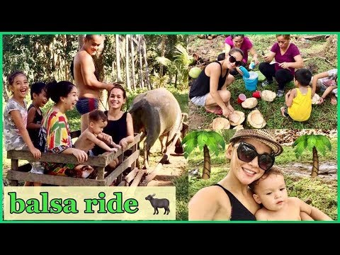 WELCOME TO OUR COCONUT FARM IN THE PHILIPPINES (RIDING BALSAHAN,