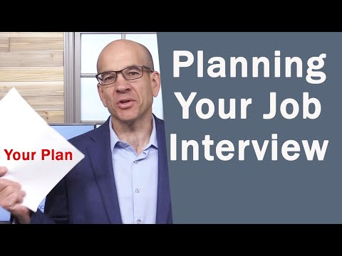How to Plan and ACE Your Next Job Interview