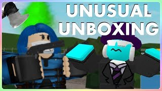 INSANE ARSENALUNUSUALS UNBOXING! WASTED 500K Gioco dell'Arsenale John Roblox, SirDapper