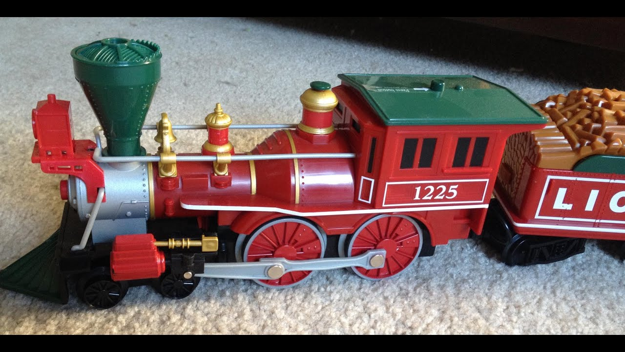 lionel g scale christmas train for sale on ebay youtube