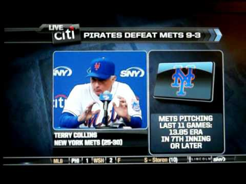 6/1/11: Terry Collins (angry) FULL post-game interview on SNY