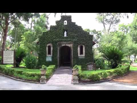 St. Augustine, Fl. Mission Nombre de Dios HD video