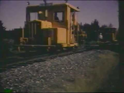Bangor and Aroostook M.O.W. crews at work in the 1960