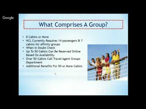 Travel Agent Training & Tips: SELLING GROUP CRUISES PART 1 W