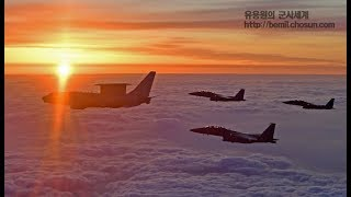 정경두 합참의장,  조기경보기 '피스아이'에서 육해공 군사대비태세 점검 풀영상