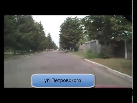 Экскурсия по г. Гребенка, Полтавской обл.часть1