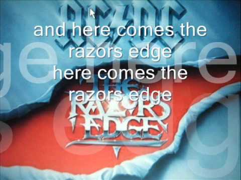 Razors edge - with lyrics