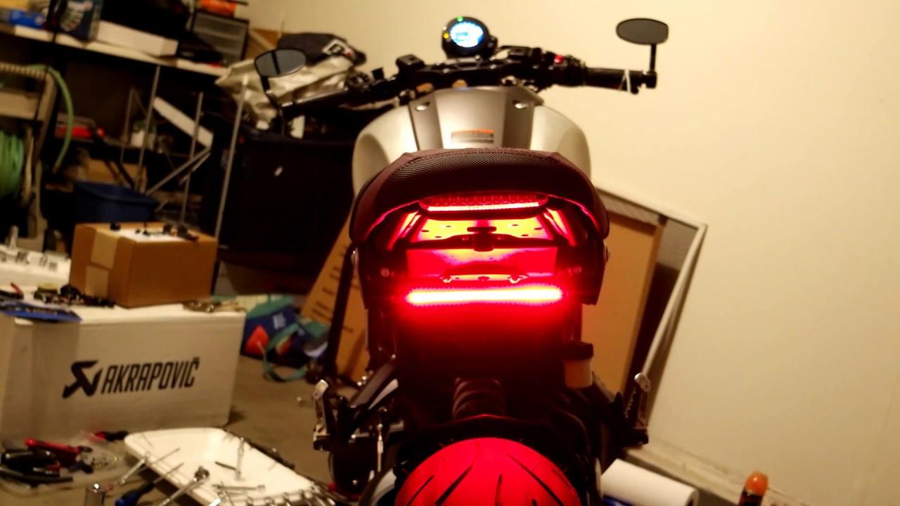 Xsr900 Modified Brake Light    Turn Signals    Running Light