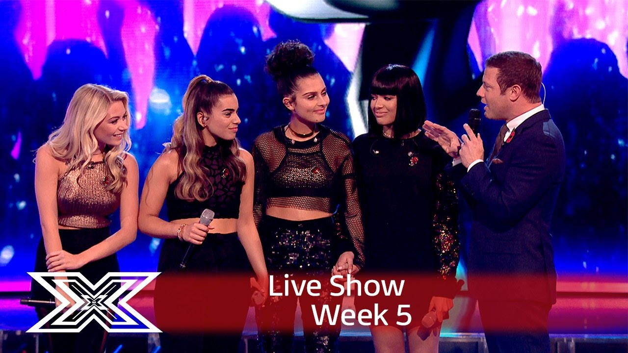 Four of Diamonds Eliminated in Live Week     - The X Factor 2016