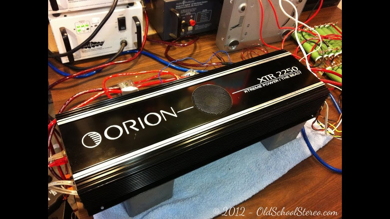 small resolution of old school orion xtr 2250 the beast amp amplifier vs jl audio 8w6 subwoofers teaser video