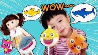 지환이와 아기상어 영어 동요를 배워요! Jihwan and Baby Shark learn English children's songs