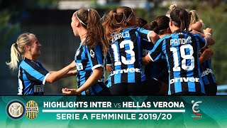 INTER 2-2 HELLAS VERONA | INTER WOMEN HIGHLIGHTS | A lead lost right at the death!
