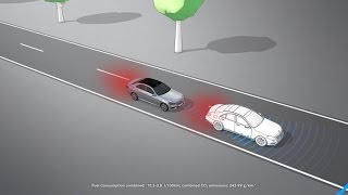 E-Class: COLLISION PREVENTION ASSIST PLUS - Mercedes-Benz original