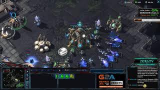 ★ Игра вдвоём за 1 базу #1   StarCraft 2 с ZERGTV ★