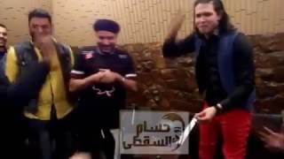 """عبسلام وهو بيسجل اغنية عم يا صياد """" لـ محمود الليثي"""