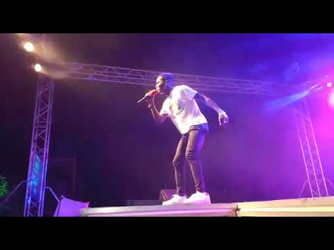 UEW - Rockstar entertainment once again surprises Kuami Eugene at UCC Close Up Campus Tour