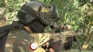 Rocinha em Guerra com apoio das Forças Amadas