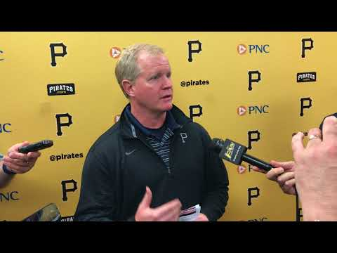 Pirates GM Neal Huntington 3/20/18