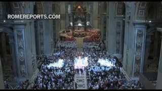 Pope to impose Pallium on metropolitan archbishops