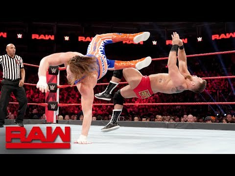 Zack Ryder & Curt Hawkins vs. The Revival: Raw, Jan. 28, 2019