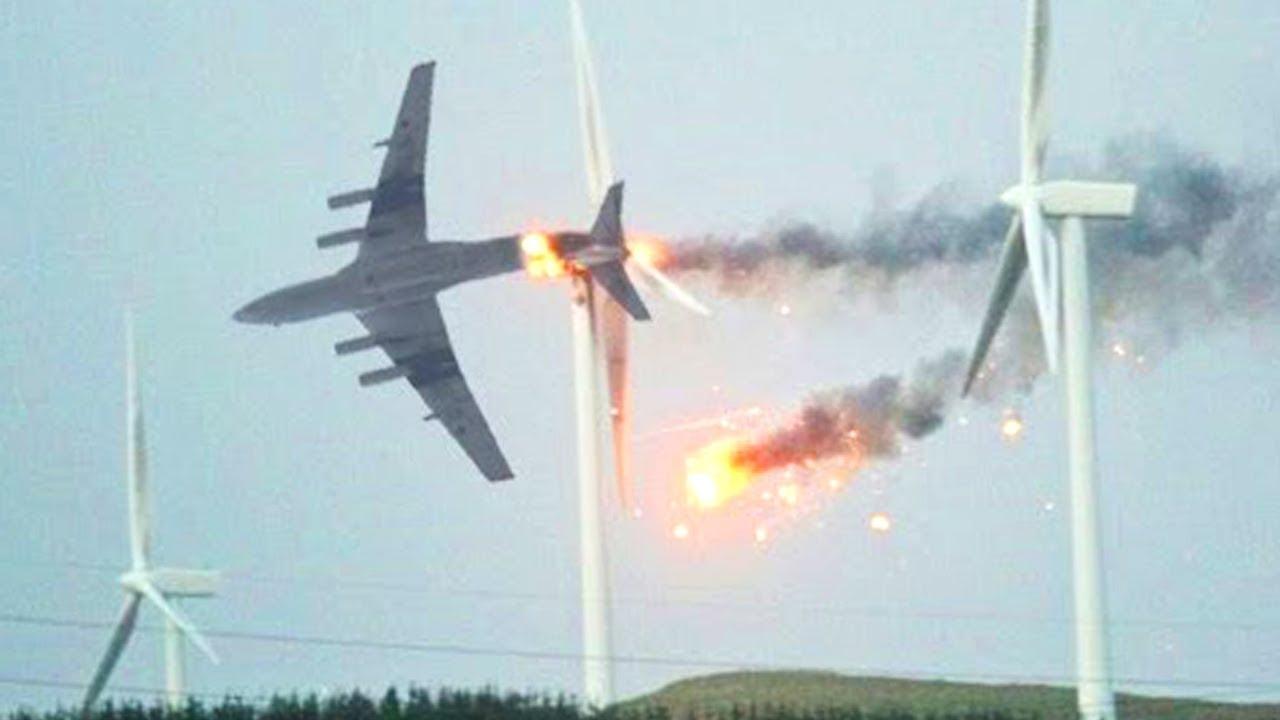 Случаи в Авиации 1 на Миллион Снятые на Камеру Часть 2