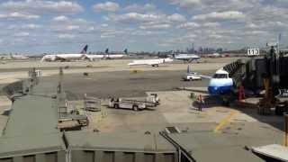 Action at Newark Liberty International Airport (part 1)