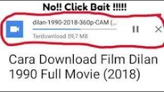 Gambar cover Download Film Dilan 1990 Full Movie