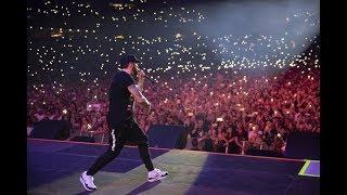 Eminem live at Sydney ANZ Stadium, 22.2.2019, Full Concert HD, Rapture Tour (first row view)