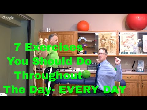 7 Exercises You Should Do Throughout The Day- EVERY DAY-