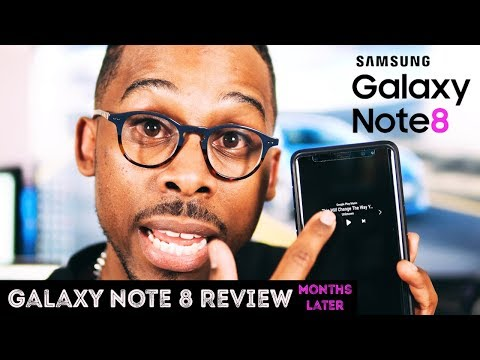 Galaxy Note 8 Review Months later BUY THIS PHONE NOW