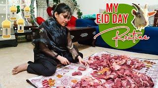 My Eid 3 Days Look And Routine | Natasha waqas vlog