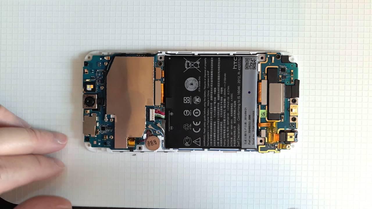 [手機拆解] HTC One A9 快拆