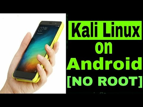 [NO ROOT]How to install Kali Linux on Your Android Phone  !![Root Terminal  Installation]