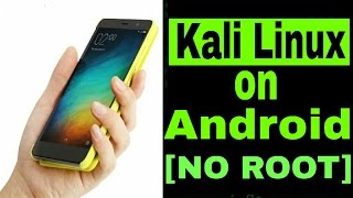 [NO ROOT]How to install Kali Linux on Your Android Phone..!![Root Terminal Installation]