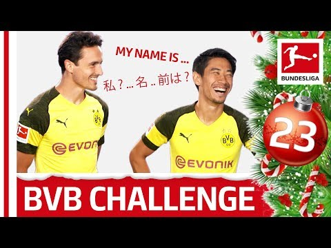 Japanese Lesson with Shinji Kagawa - Repeat After Me - Bundesliga 2018 Advent Calendar 23