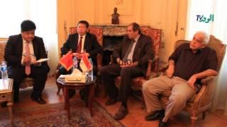 بالفيديو والصور.. الوفد يستقبل حزب الصين الحاكم لبحث آليات التعاون