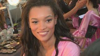 Victoria's Secret backstage: Lameka Fox on practicing her walk everywhere