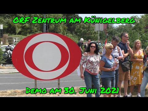 JOURNALISTISCHE ETHIK?! - DEMO beim ORF Zentrum am Künigelberg am 30. Juni 2021