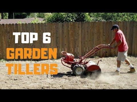 Best Garden Tiller in 2019 - Top 6 Garden Tillers Review