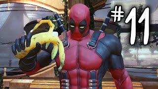 "Deadpool Gameplay Walkthrough Part 11 - ""DEATH CIRCUS!"" (Deadpool PS3/Xbox 360/PC)"