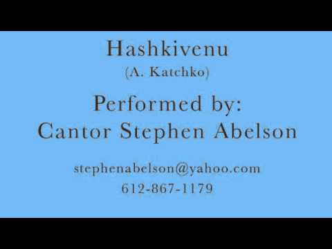 Cantor Stephen Abelson - Hashkivenu