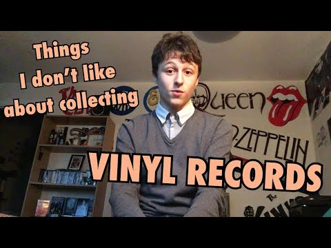 Things I Don't Like About Collecting Vinyl Records