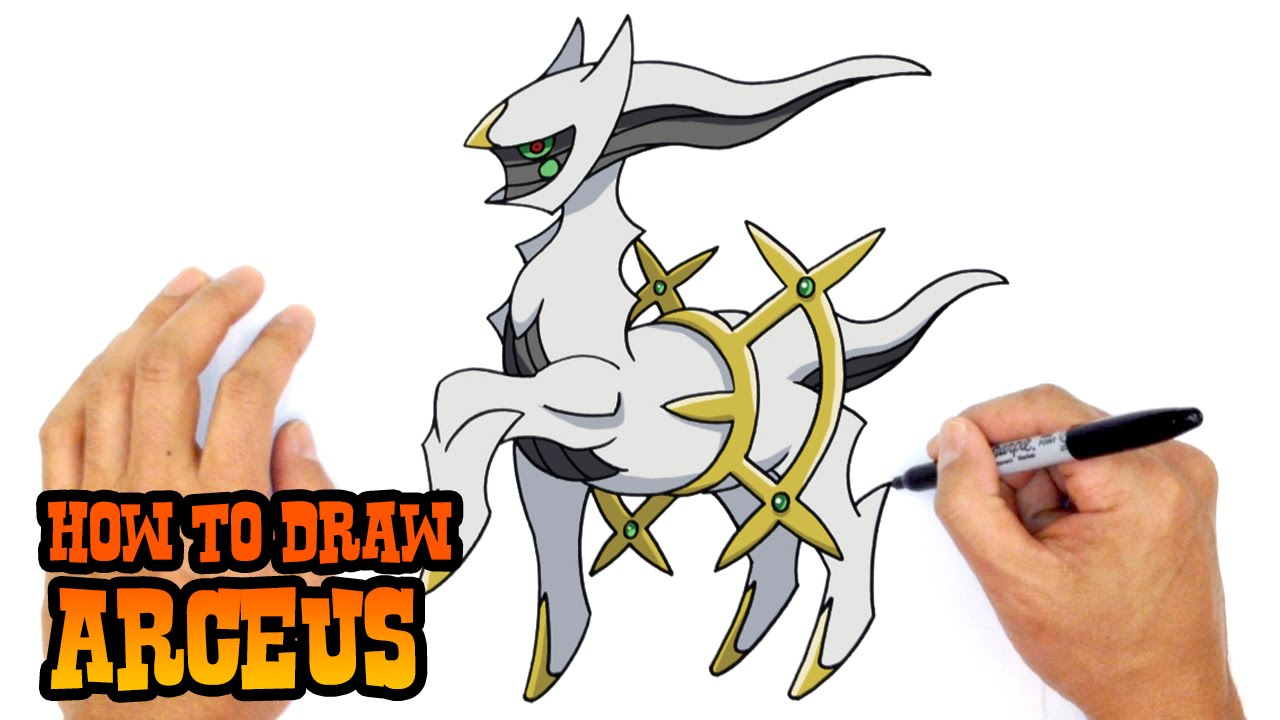 How to Draw Arceus Pokemon